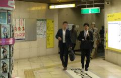 1.六本木駅「5番出口」を目指します。