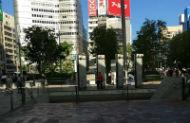 1.地下街21番出口を目指します。JR東京駅「中央八重洲口」を出ます。出るとすぐに地下街への入口があるので階段を降ります。